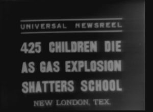 425 Children Die as Gas Explosion Shatters School (1937)