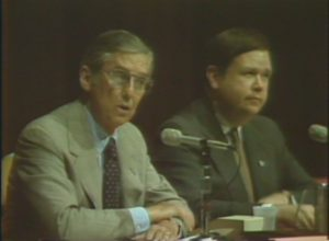 KOSA-TV: Senators Bentsen and Boren at Windfall Profits Tax Hearing (1980)