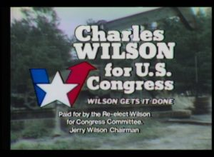 Congressman Charles Wilson Campaign Advertisements (1976)